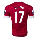 Manchester United 15/16 BLIND Home Soccer Jersey