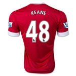 Manchester United 15/16 KEANE Home Soccer Jersey
