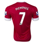 Manchester United 15/16 MEMPHIS Home Soccer Jersey