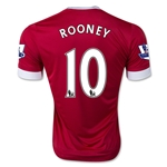 Manchester United 15/16 ROONEY Home Soccer Jersey