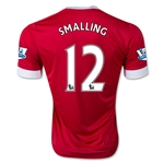 Manchester United 15/16 SMALLING Home Soccer Jersey