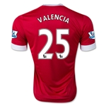 Manchester United 15/16 VALENCIA Home Soccer Jersey