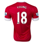 Manchester United 15/16 YOUNG Home Soccer Jersey