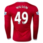 Manchester United 15/16 WILSON LS Home Soccer Jersey