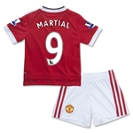 Manchester United 15/16 MARTIAL Home Mini Kit