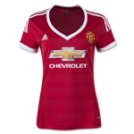 Manchester United 15/16 Women's Home Soccer Jersey