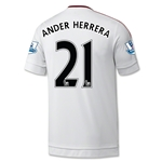 Manchester United 15/16 ANDER HERRERA Away Soccer Jersey