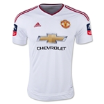 Manchester United 15/16 Away Soccer Jersey w/ FA Cup Patch