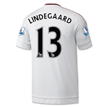 Manchester United 15/16 LINDEGAARD Away Soccer Jersey
