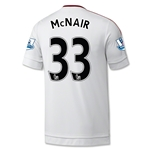 Manchester United 15/16 McNair Away Soccer Jersey
