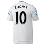 Manchester United 15/16 ROONEY Away Soccer Jersey
