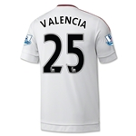 Manchester United 15/16 VALENCIA Away Soccer Jersey