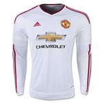 Manchester United 15/16 LS Away Soccer Jersey