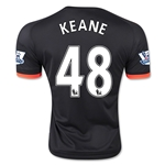 Manchester United 15/16 KEANE Third Soccer Jersey