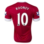 Manchester United 15/16 ROONEY Youth Home Soccer Jersey