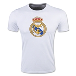 Real Madrid Crest T-Shirt (White)