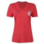 Bayern Munich Women's Crest T-Shirt