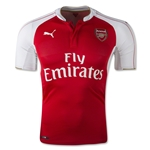 Arsenal 15/16 Authentic Home Soccer Jersey