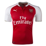 Arsenal 15/16 UCL Authentic Home Soccer Jersey