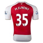 Arsenal 15/16 M.ELNENY Authentic Home Soccer Jersey