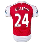 Arsenal 15/16 BELLERIN Home Soccer Jersey