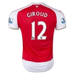 Arsenal 15/16 GIROUD Home Soccer Jersey