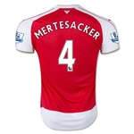 Arsenal 15/16 MERTESACKER Home Soccer Jersey