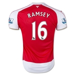 Arsenal 15/16 RAMSEY Home Soccer Jersey
