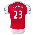 Arsenal 15/16 WELBECK Home Soccer Jersey
