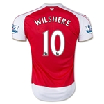 Arsenal 15/16 WILSHERE Home Soccer Jersey