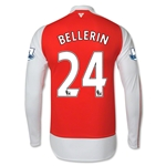Arsenal 15/16 BELLERIN LS Home Soccer Jersey