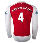 Arsenal 15/16 MERTESACKER LS Home Soccer Jersey