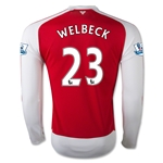 Arsenal 15/16 WELBECK LS Home Soccer Jersey