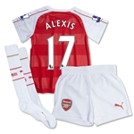 Arsenal 15/16 ALEXIS Home Mini Soccer Kit