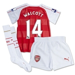 Arsenal 15/16 WALCOTT Home Mini Soccer Kit