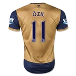 Arsenal 15/16 OZIL Away Soccer Jersey