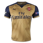 Arsenal 15/16 UCL Away Soccer Jersey