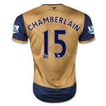 Arsenal 15/16 CHAMBERLAIN Away Soccer Jersey