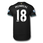 Arsenal 15/16 MONREAL Cup Soccer Jersey