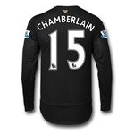 Arsenal 15/16 CHAMBERLAIN LS Cup Soccer Jersey