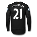 Arsenal 15/16 CHAMBERS LS Cup Soccer Jersey