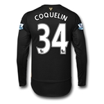 Arsenal 15/16 COQUELIN LS Cup Soccer Jersey