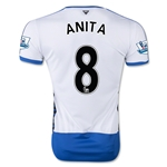 Newcastle United 15/16 ANITA Home Soccer Jersey