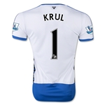 Newcastle United 15/16 KRUL Home Soccer Jersey