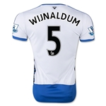 Newcastle United 15/16 WIJNALDUM Home Soccer Jersey