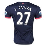 Newcastle United 15/16 S. TAYLOR Third Soccer Jersey