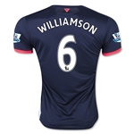 Newcastle United 15/16 WILLIAMSON Third Soccer Jersey