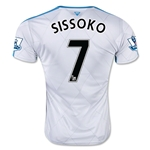 Newcastle United 15/16 SISSOKO Away Soccer Jersey