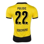 Borussia 15/16 PULISIC Home Soccer Jersey