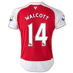 Arsenal 15/16 WALCOTT Youth Home Soccer Jersey